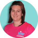 Elaine Colley baby swimming teacher