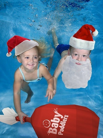 Santas Helpers Baby Swimming