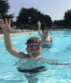 summer outdoor swim pool fun