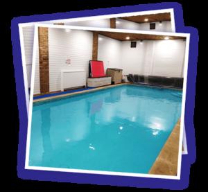 Private Swimming Pool at Bagshot, Surrey